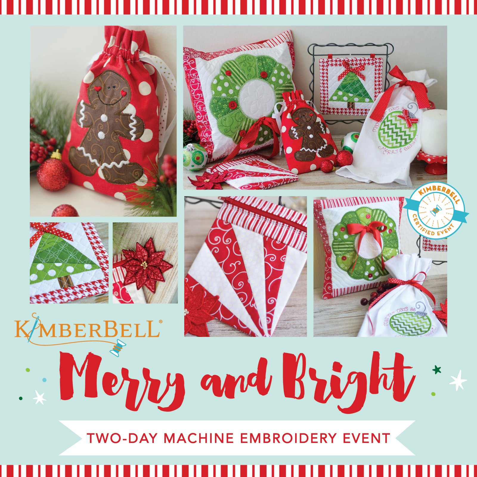 Merry and Bright Virtual Kimberbell Event