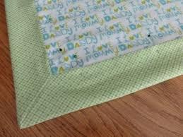 Mitered Baby Blanket Pattern