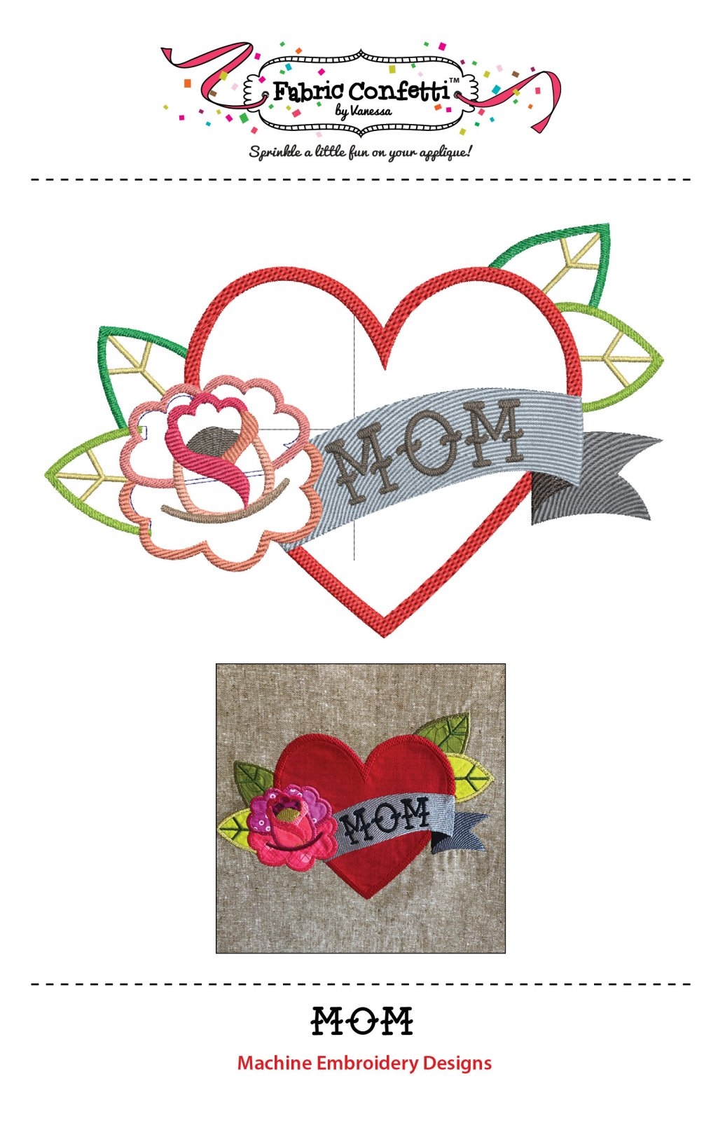 Mom Embroidery Download