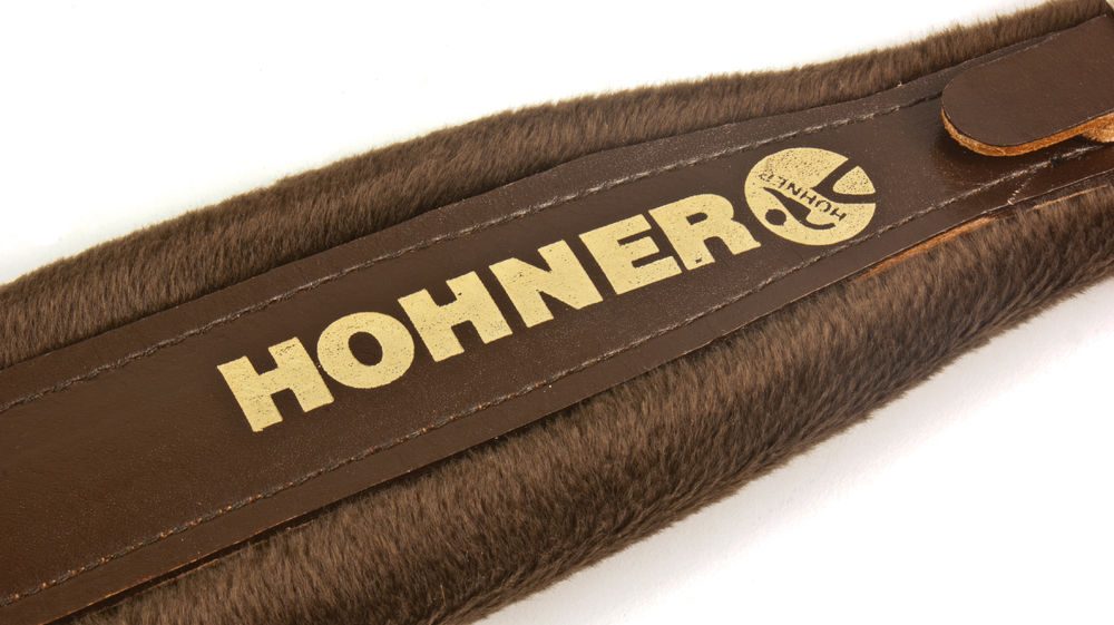 New Brown Leather Plush Hohner Accordion Straps ACC8