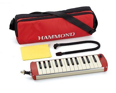 NEW Hammond Pro 27-S Amplified Soprano Melodion 27 Key Melodica