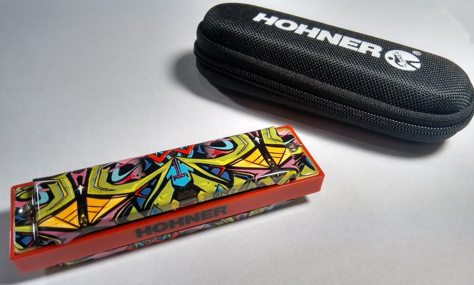 New Hohner Tagged Red Dragon Blues Bender Diatonic Harmonica Key of G