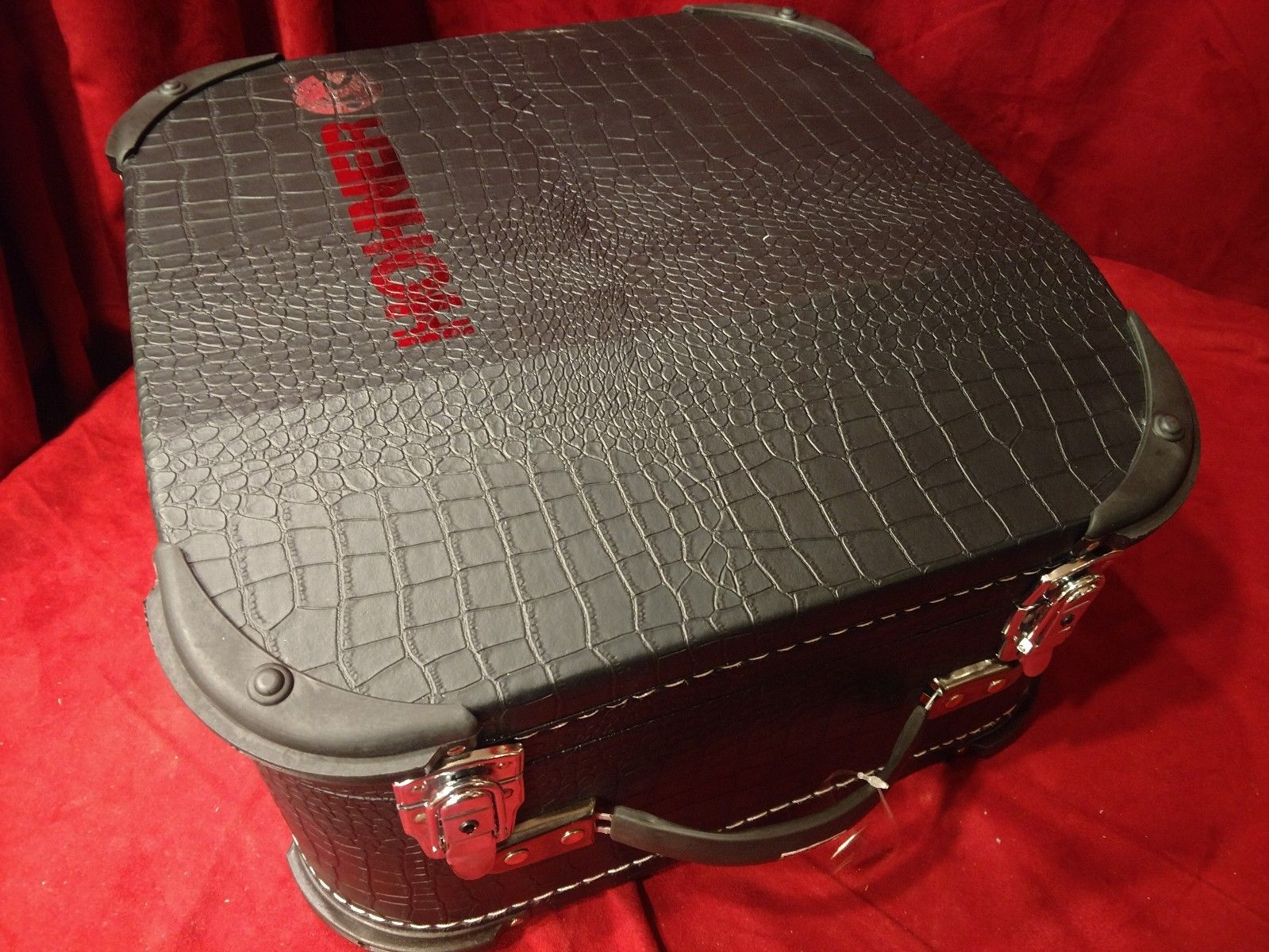 NEW Black Hohner 12X-DX Accordion Hard Case