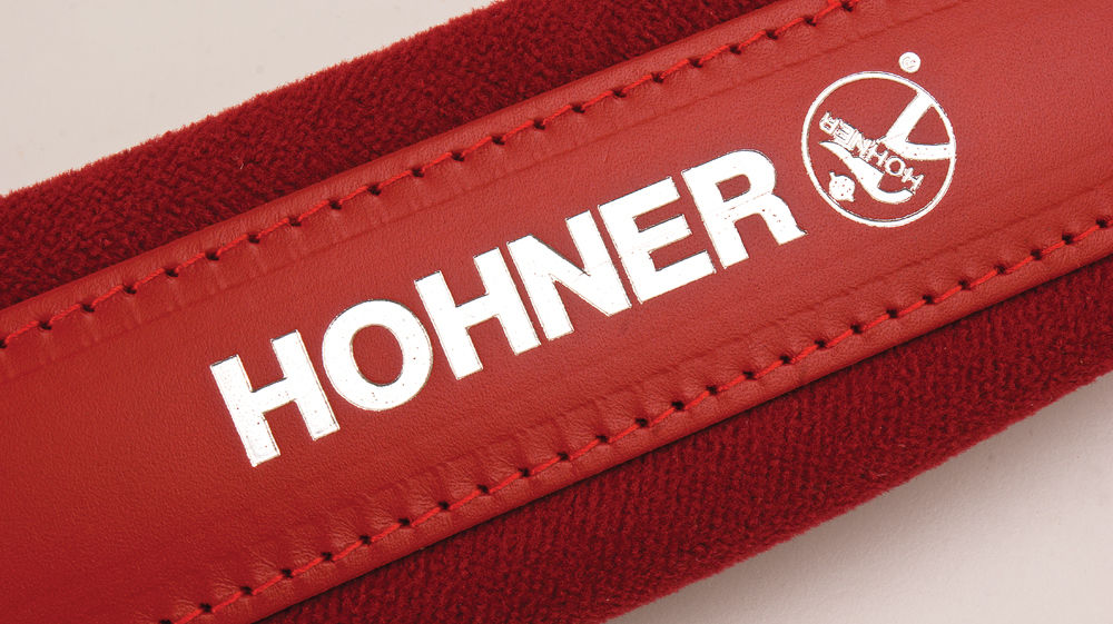 New Red Leather Velour Hohner Accordion Straps ACC11