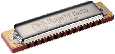 New Hohner Diatonic Harmonica Marine Band 12 Hole Concert Tuning Key of C