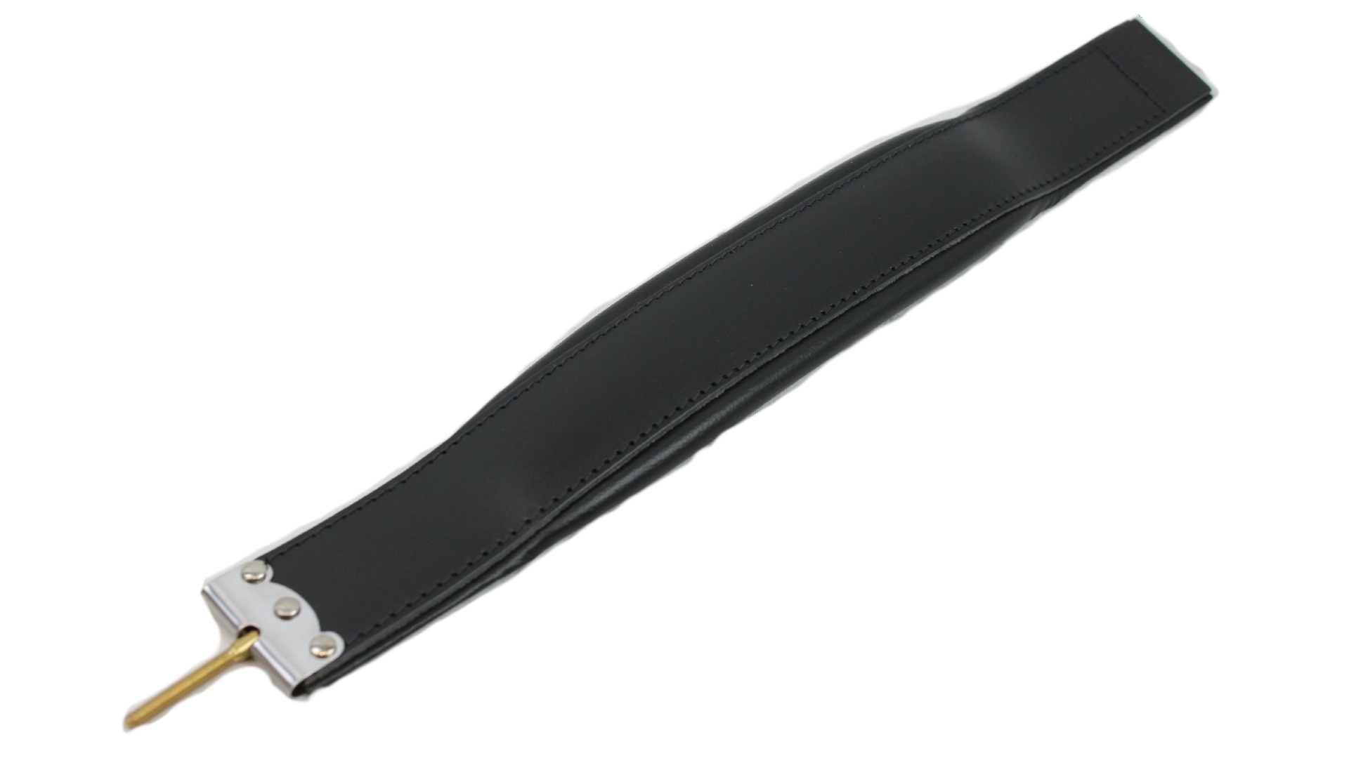 New Black Leather Fuselli Accordion Bass Hand Strap Width (2.5in/6.5cm) Length (21.5in/55cm)