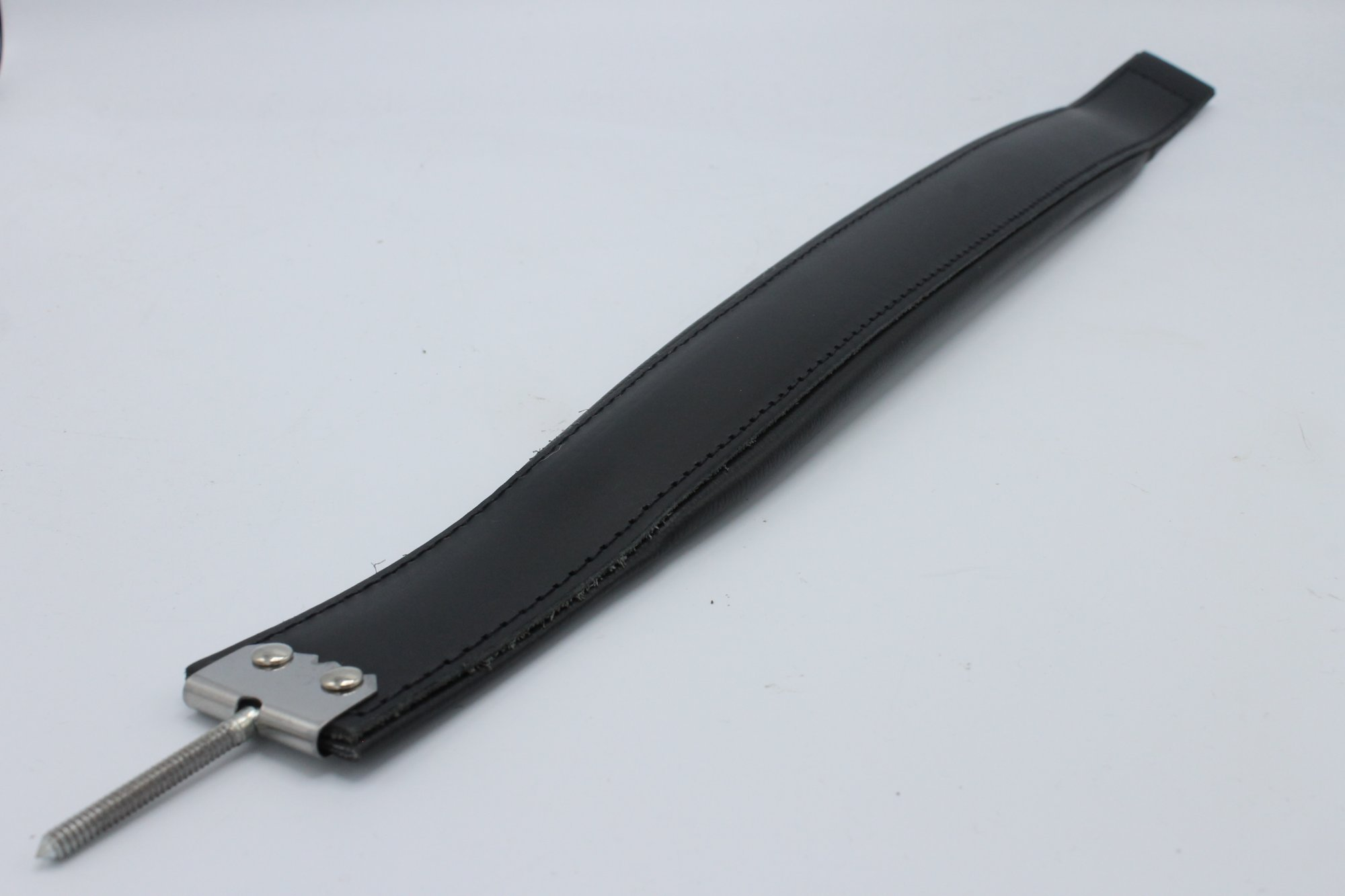 New Black Leather Fuselli Accordion Bass Hand Strap Width (2in/5cm) Length (17.75in/45cm)