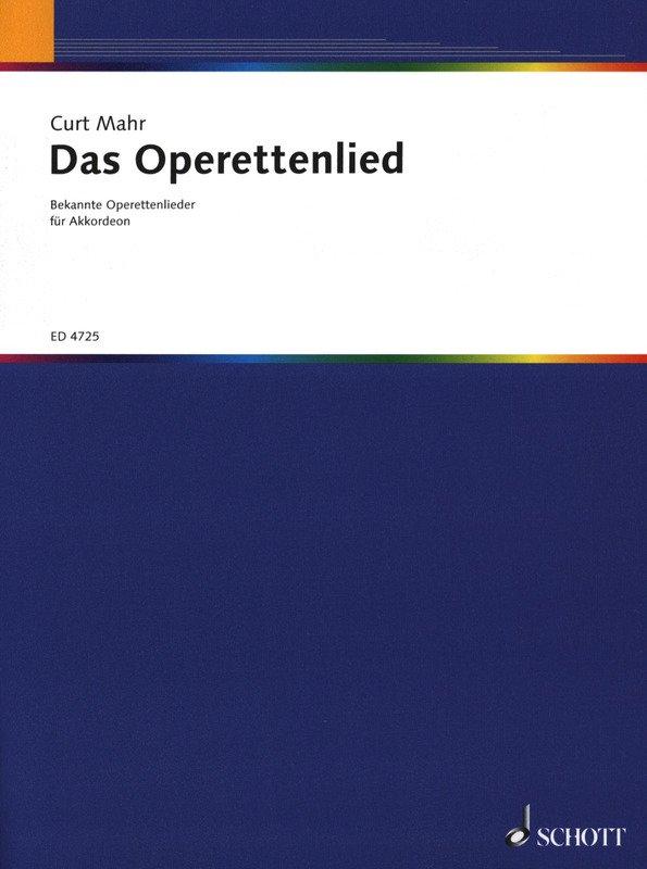 Das Operettenlied by Curt Mahr