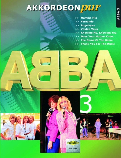 ABBA 3 for Accordion