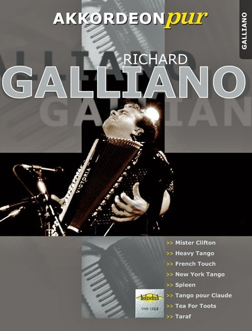 Richard Galliano by Hans-Guenther Koelz