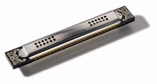 New Hohner Kreuzwender Tremolo Harmonica 53/48 Key of G