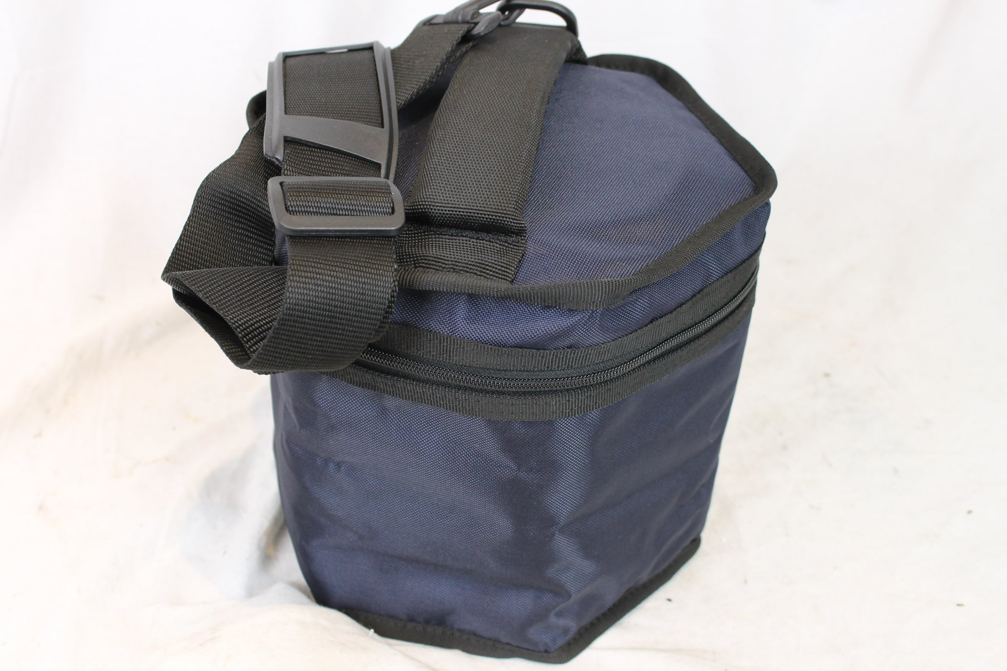 NEW Blue Fuselli Deluxe Padded Gig Bag for Concertina 8 Height x 7.5 Diameter