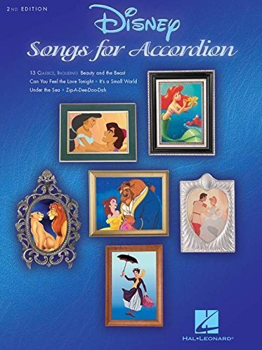 Disney Songs for Accordion 2nd Edition
