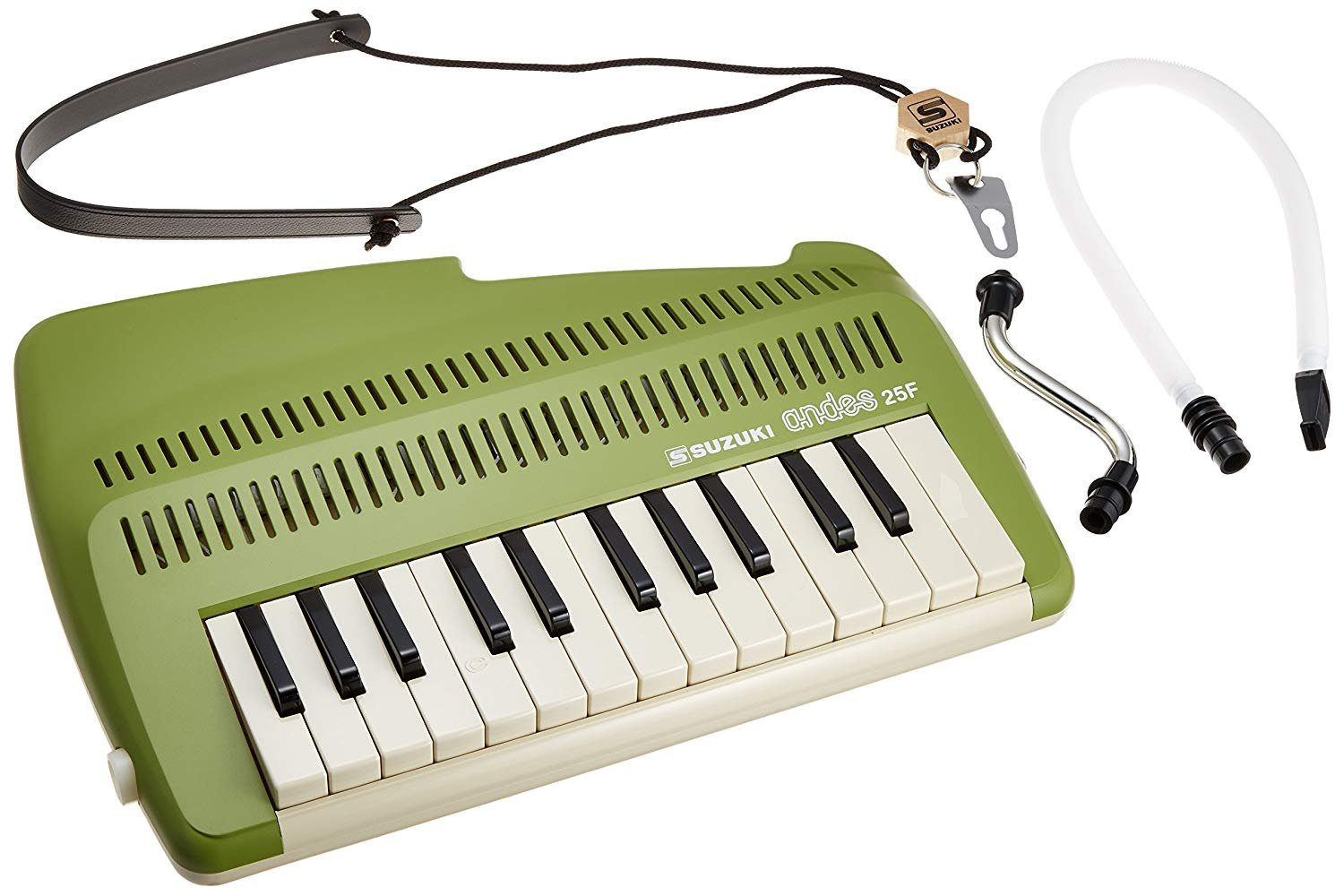 New Green Suzuki Andes A-25F Melodion 25 Key Melodica