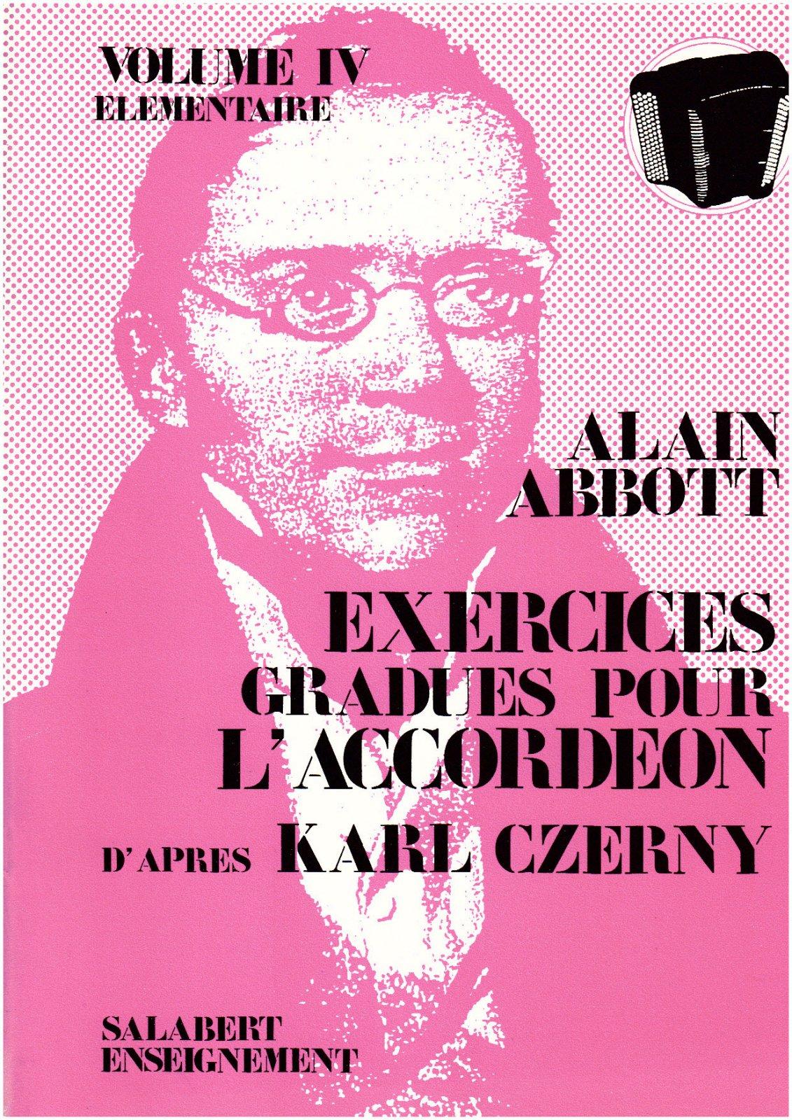 Abbott, Alain - Exercices Gradues Vol.4 Accordeon Enseignement