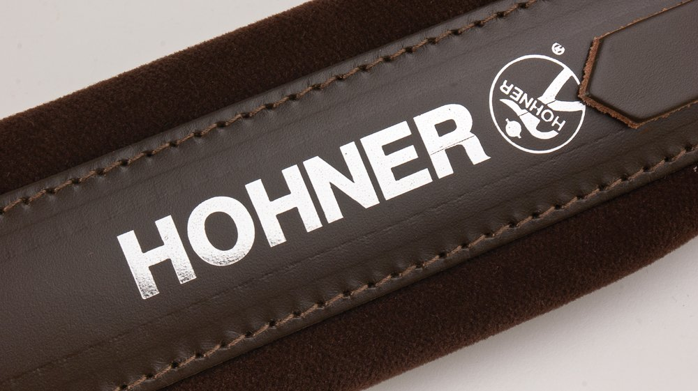 New Brown Leather Velour Hohner Accordion Straps ACC14