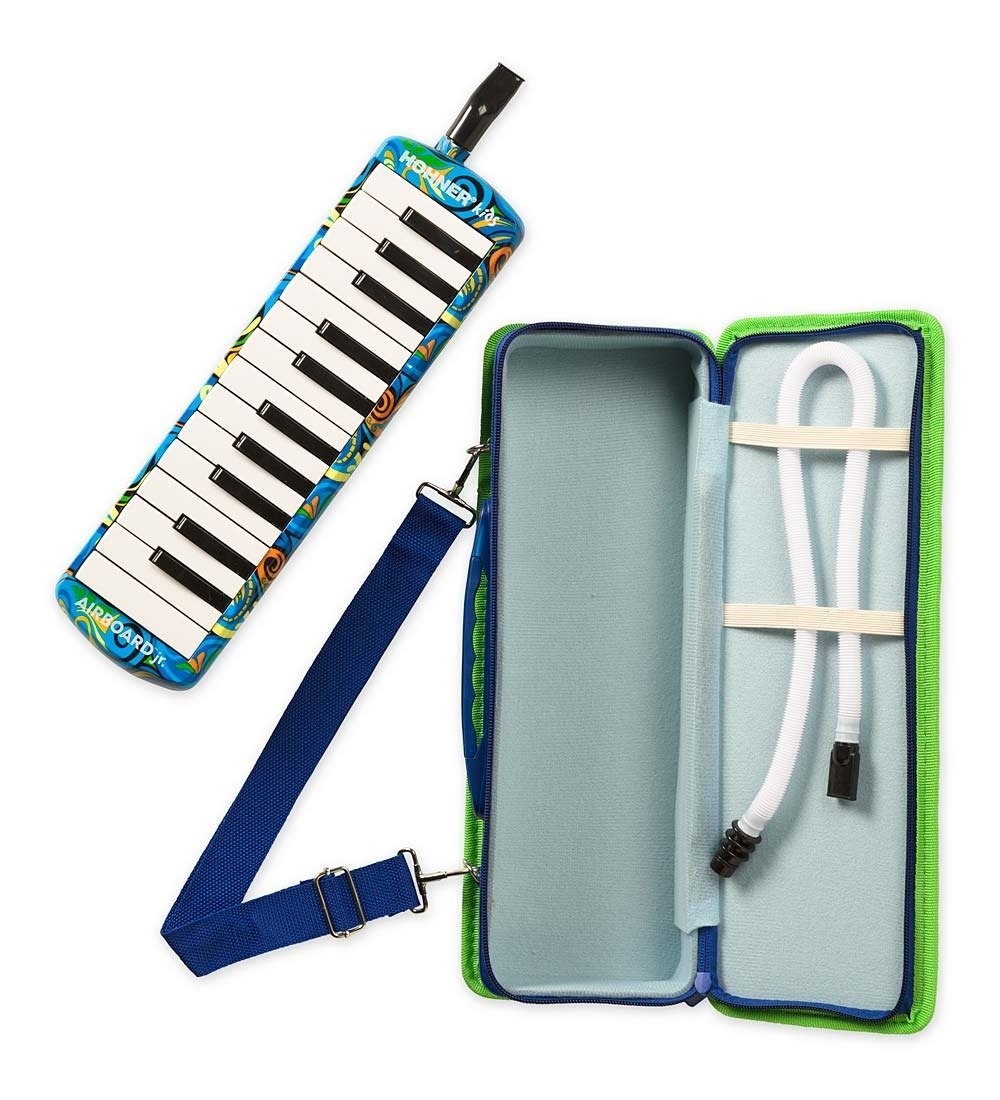 NEW Blue Hohner Airboard Jr. 25 Key Melodica