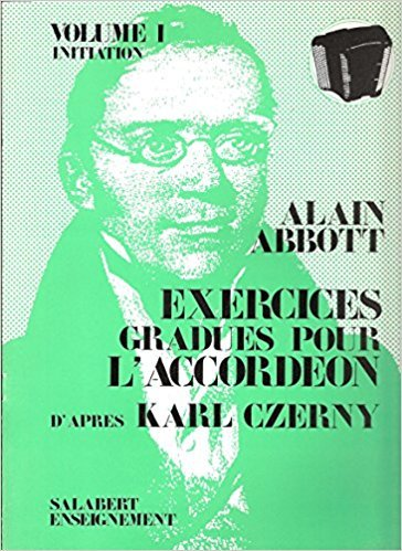 Abbott, Alain - Exercices Gradues Vol.3 Accordeon Enseignement