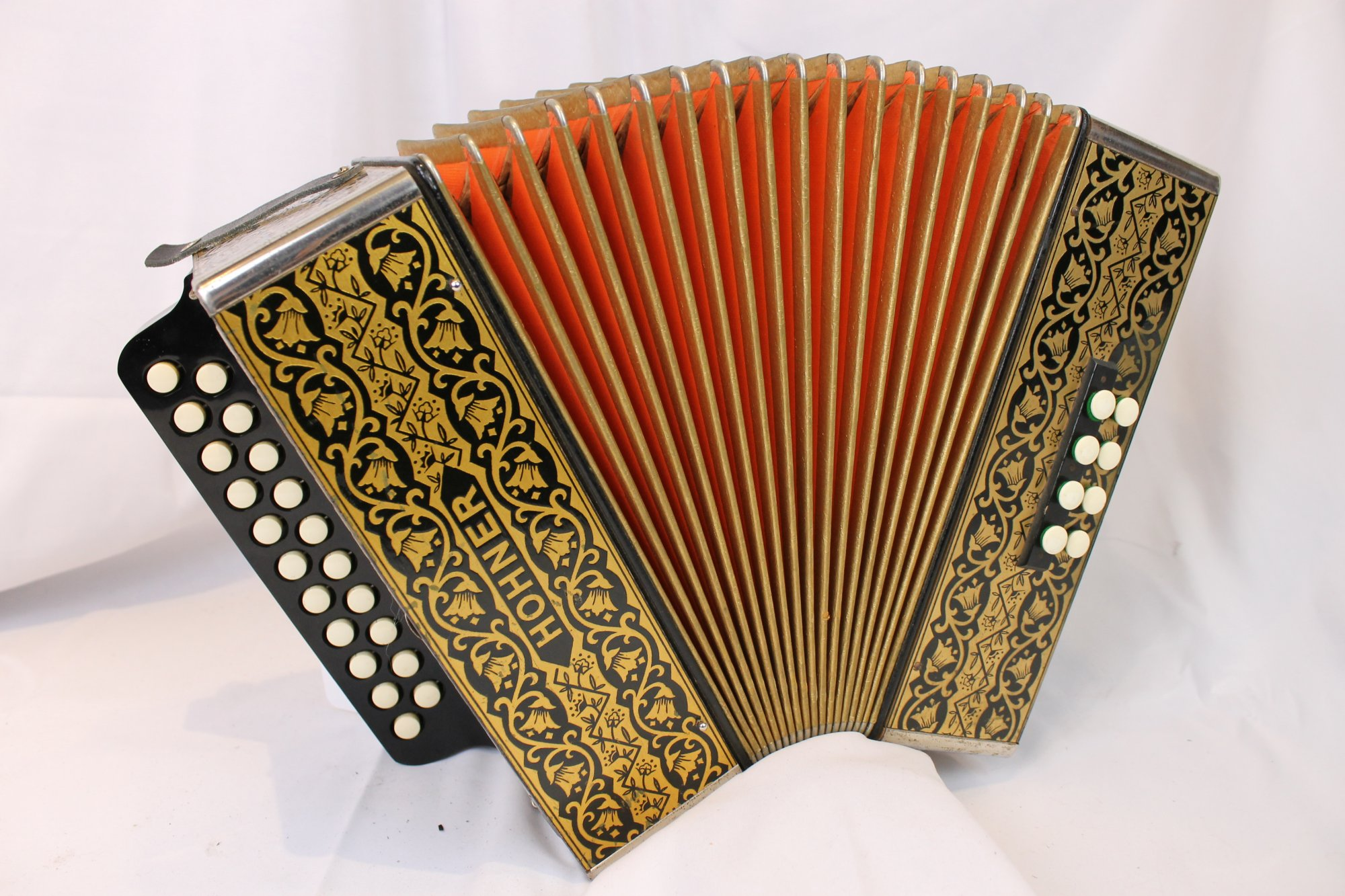 4144 - Hohner Pokerwork HA-2815 Diatonic Button Accordion GC 21 8