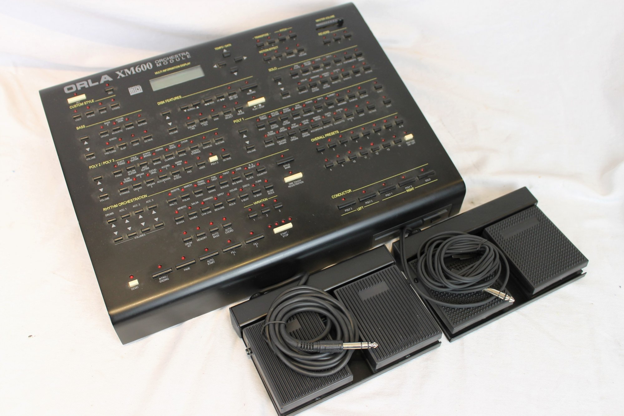 4188 - Orla XM600 Arranger and Sound Module