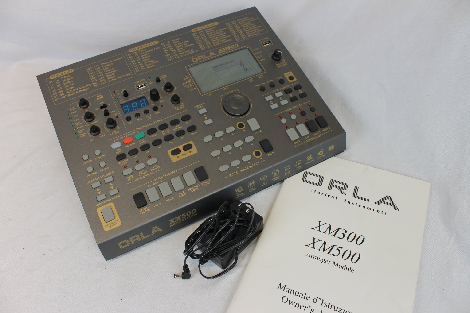 4195 - Orla XM500 Music Station Arranger and Sound Module