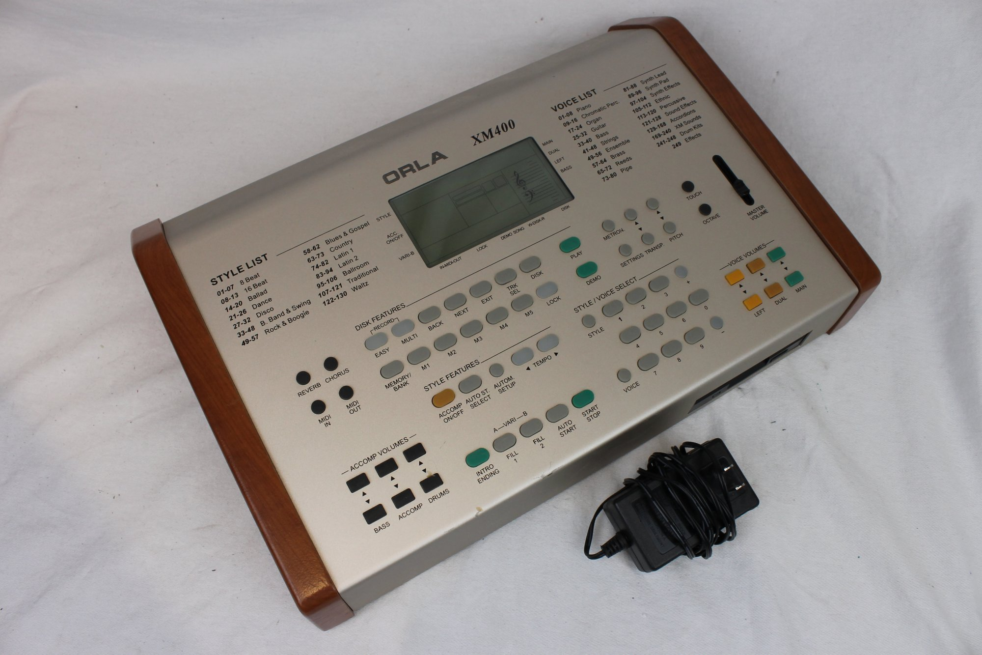 4199 - Orla XM400 Arranger and Midi Sound Module