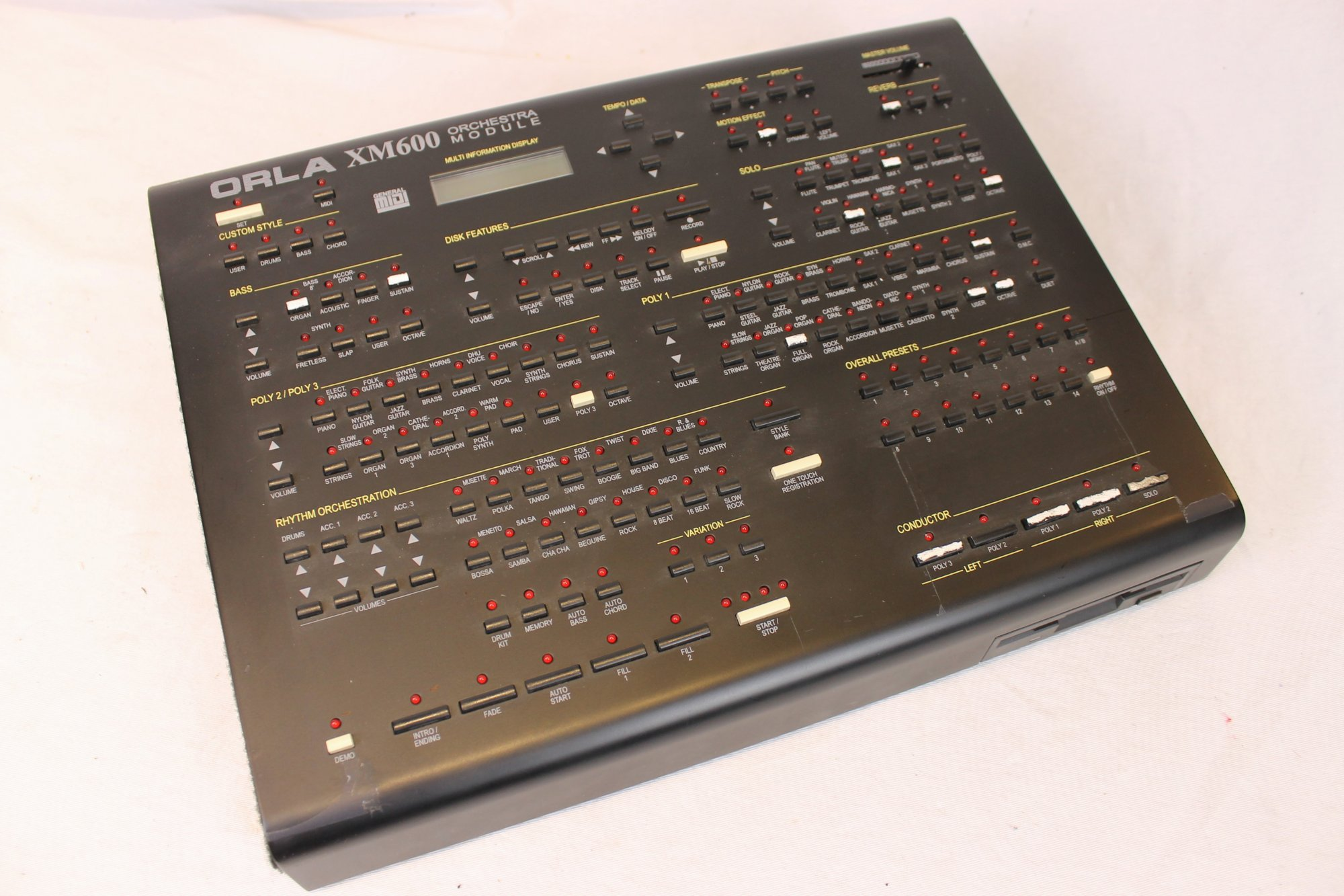4205 - Orla XM600 Arranger and Sound Module FOR PARTS OR REPAIR