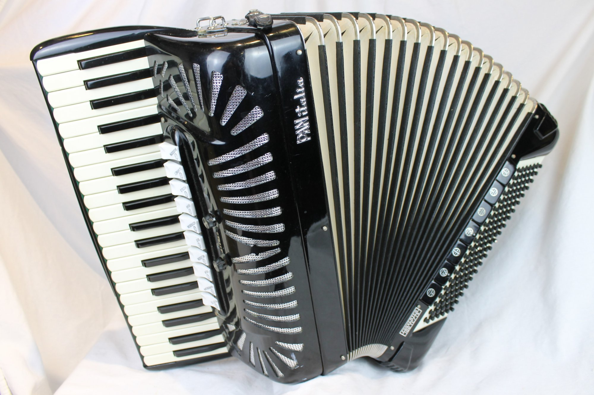 4210 - Black PanItalia Converter TC100/19 Quint Converter Piano Accordion LMMH 41 120