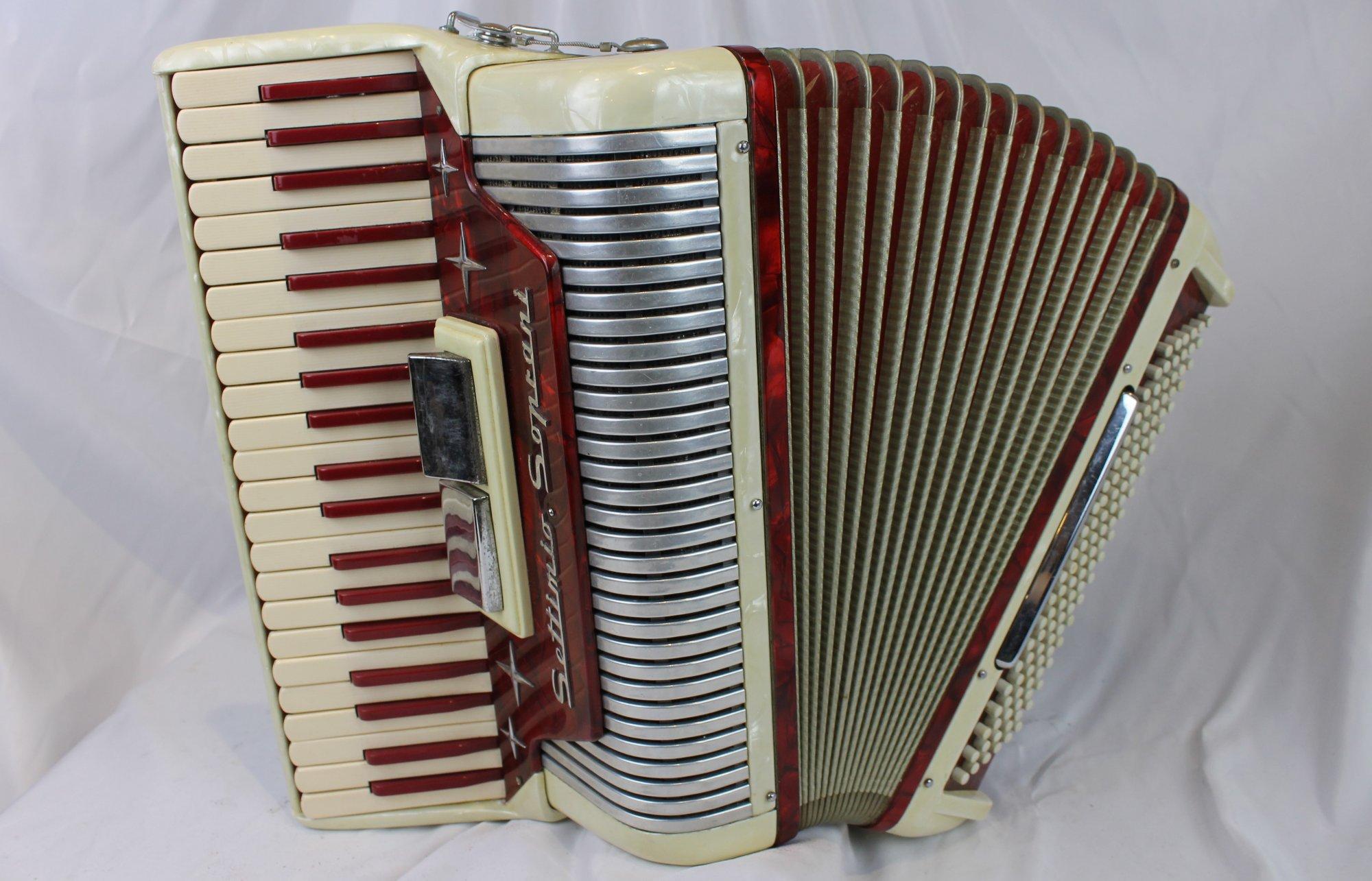 4251 - Candy Stripe Settimio Soprani Piano Accordion LM 41 120