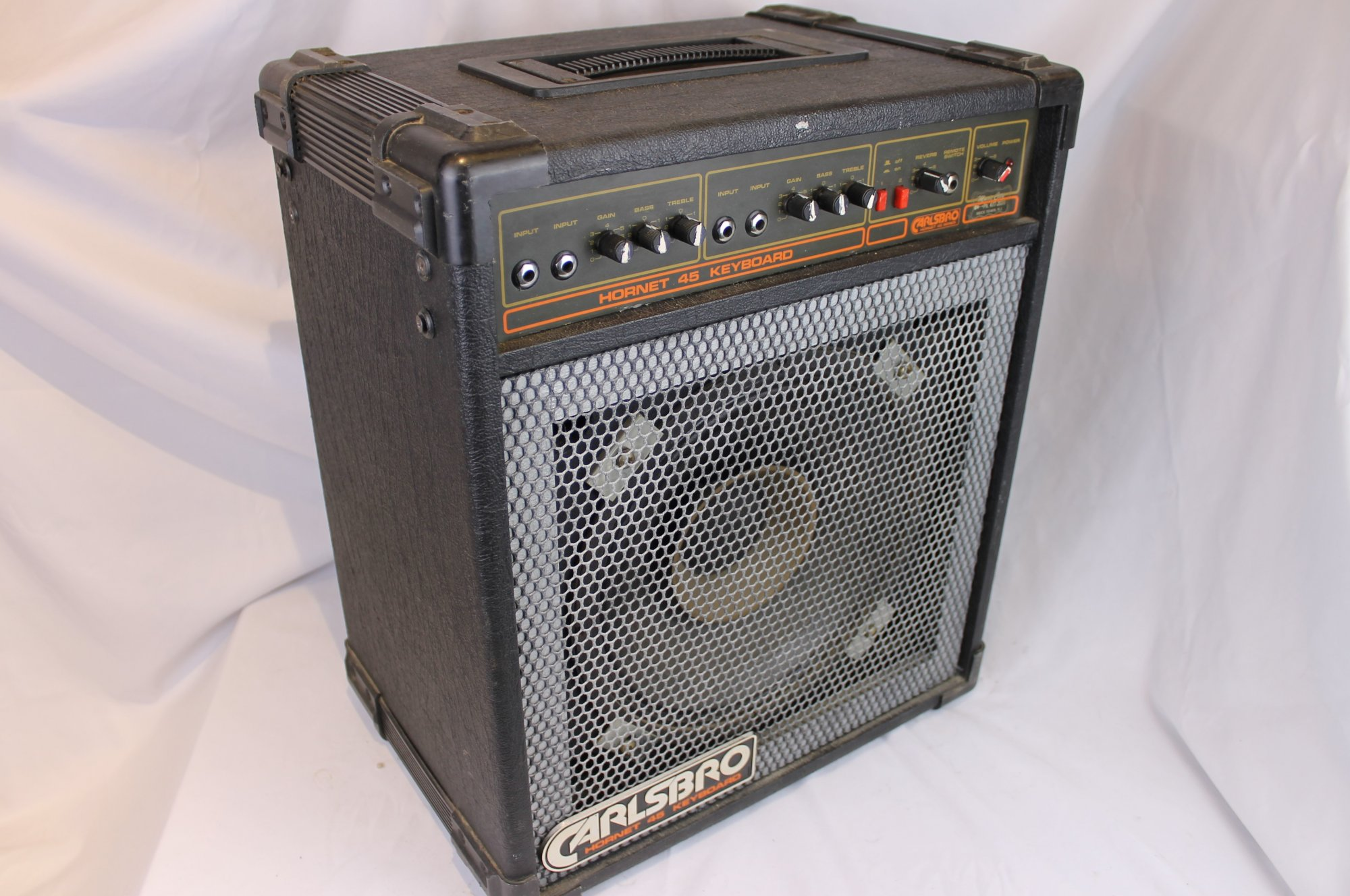 4286 - Black Carlsbro Hornet 45W Keyboard Amplifier 12 Speaker