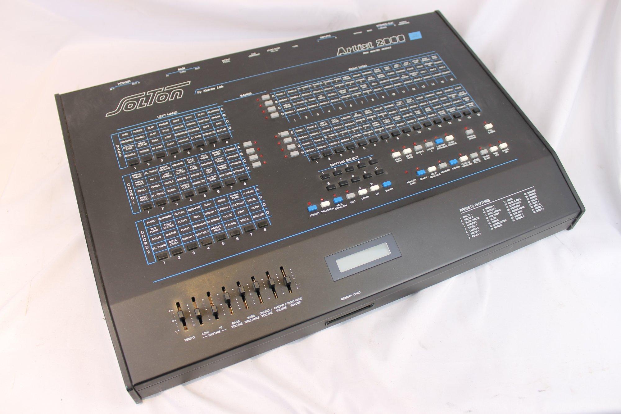 4304 - Ketron Solton Artist 2000 Midi Arranger and Sound Module