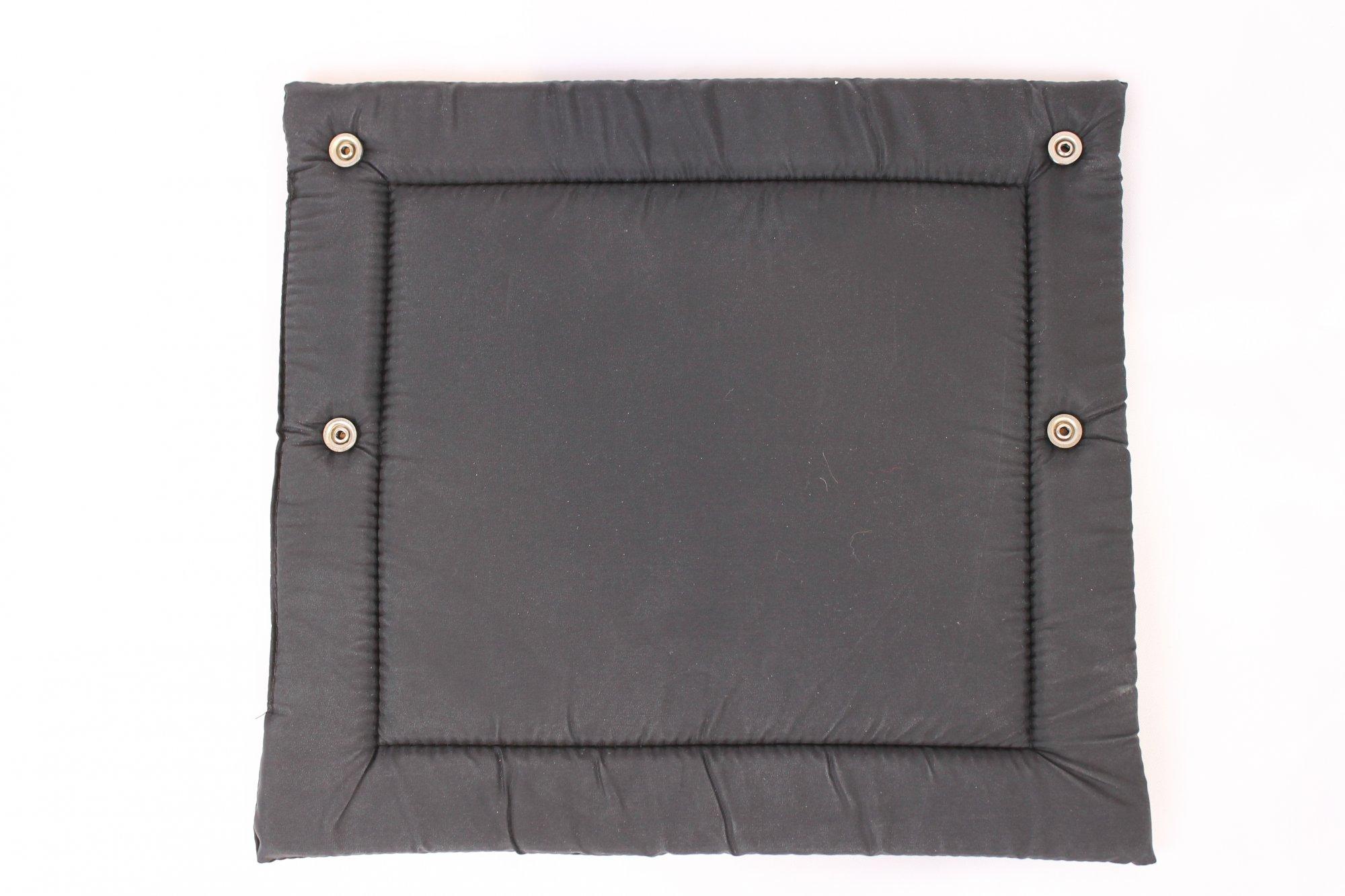 NEW Black Accordion Back Pad Width (28cm / 11in) Length (25.5cm / 10in)