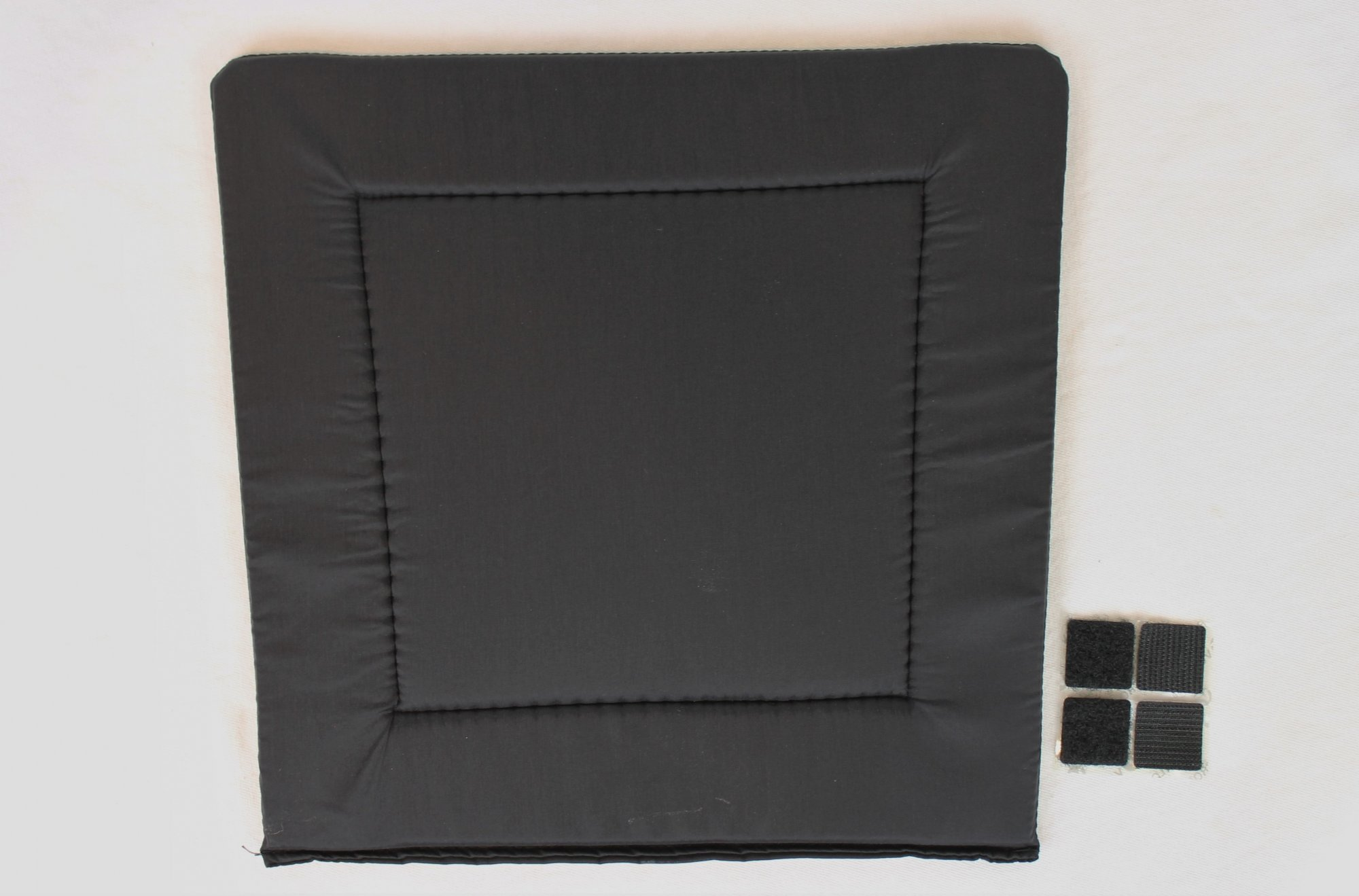 NEW Black Accordion Back Pad Width (28cm/11in) Length (26cm/10.25in)