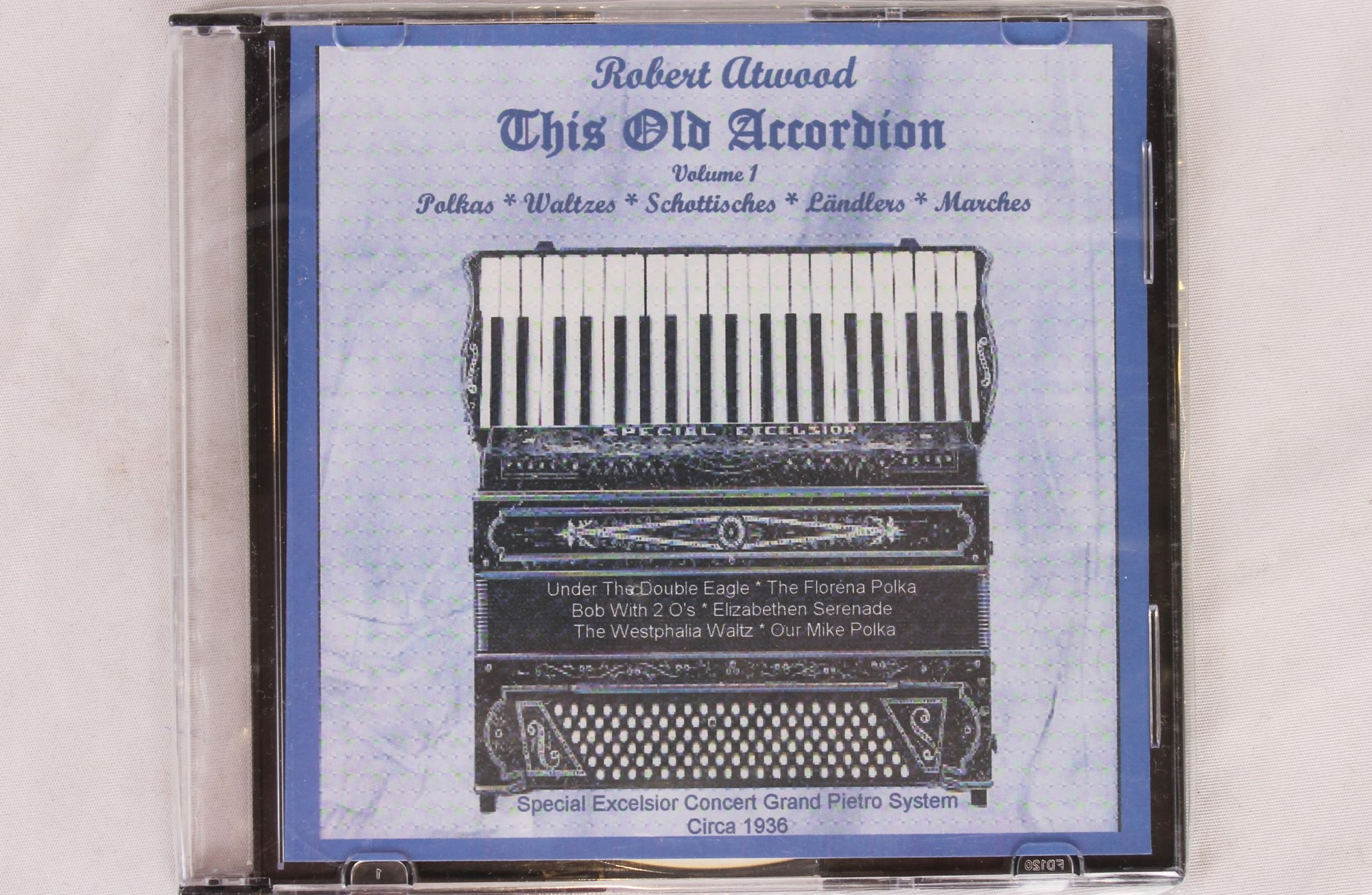 Robert Atwood: This Old Accordion (CD)