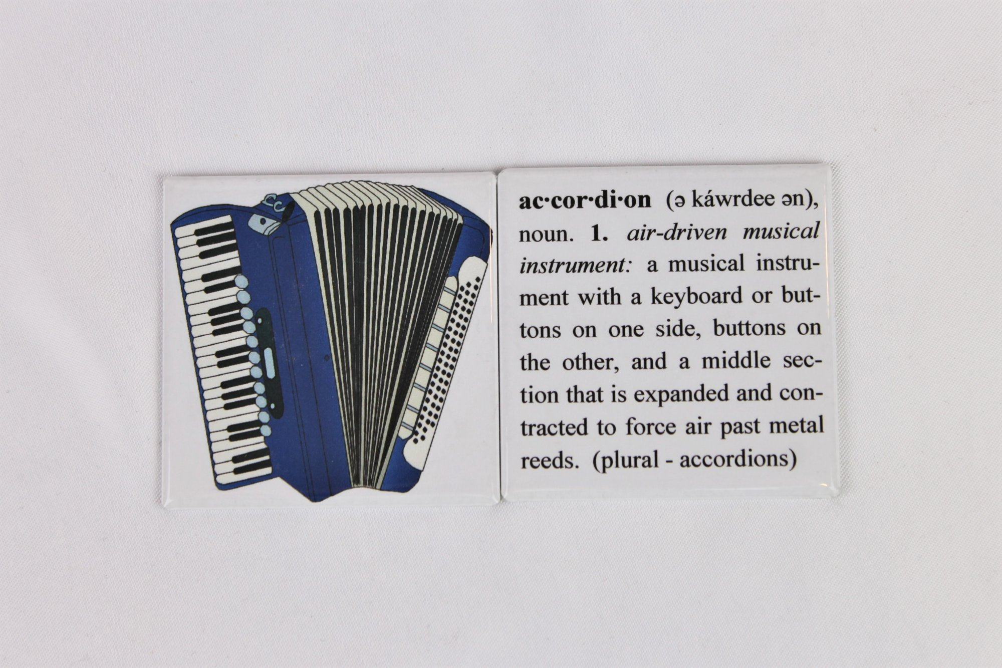 Accordion Magnets - Set of 2