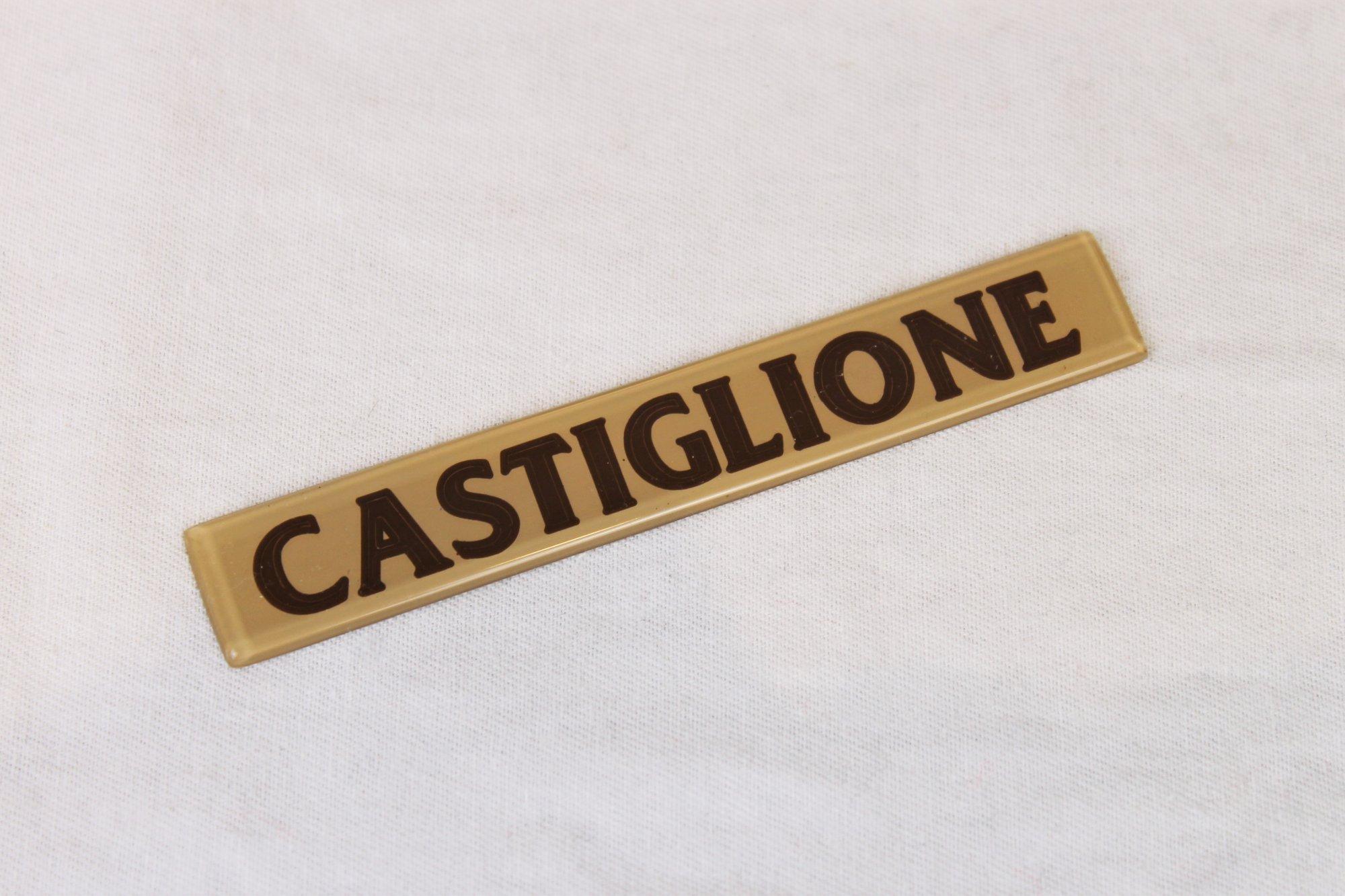 Accordion Part - Tan Castiglione Emblem