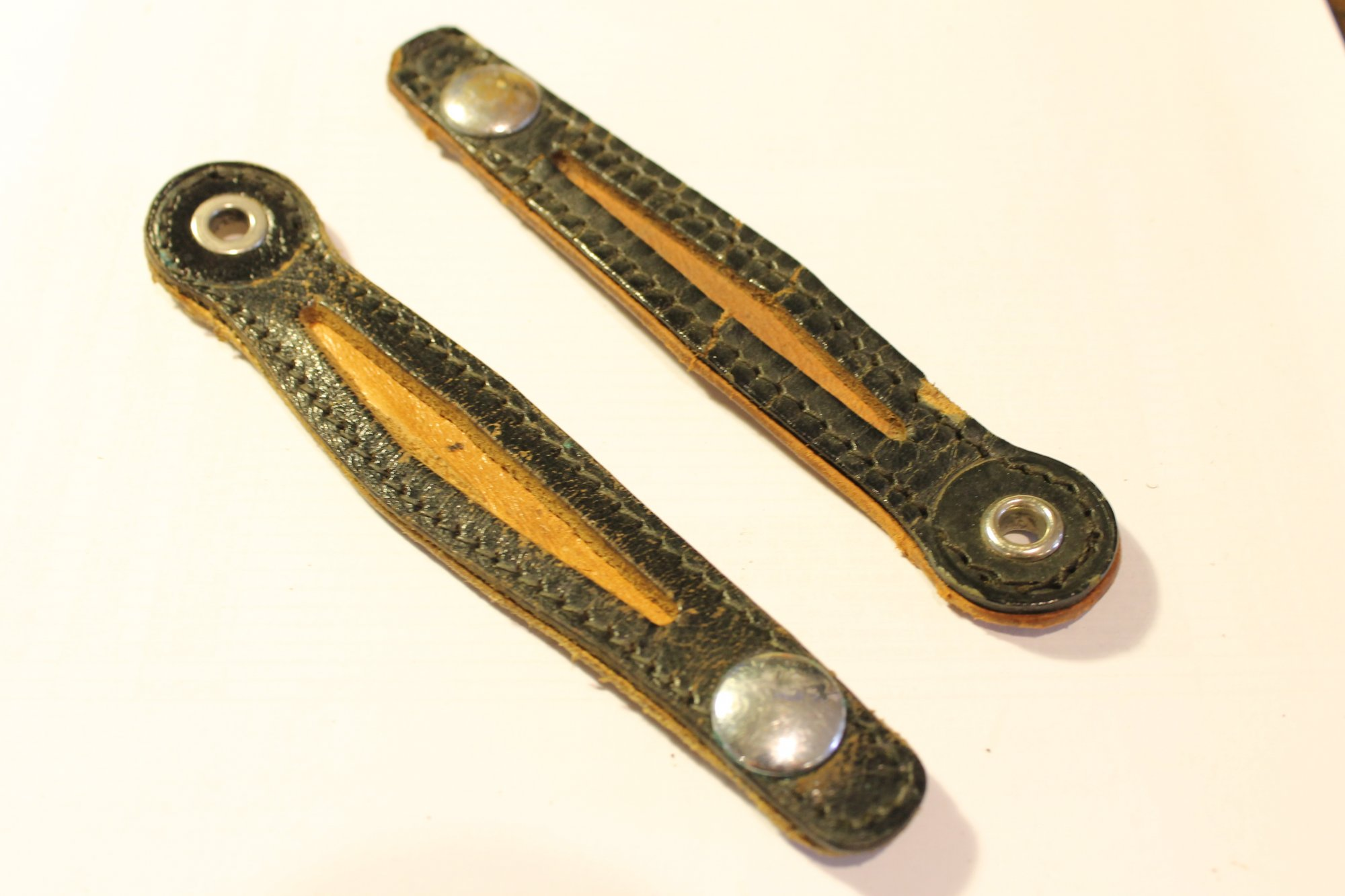 BA3/4 - Accordion Bellows Clasp Part - Pair of 2 Pieces