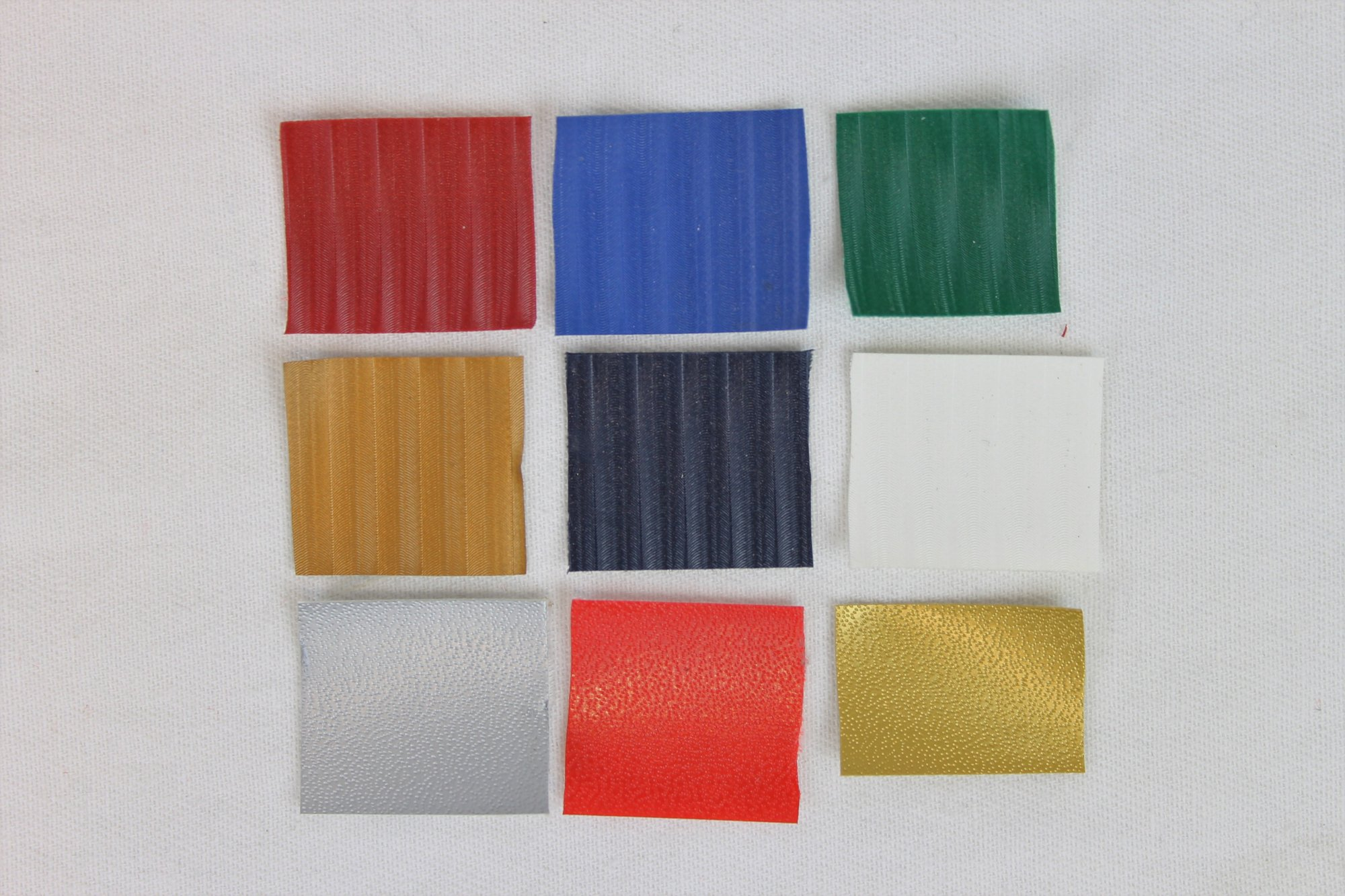 New Accordion Bellows Tape One Yard (36) Assorted Colors and Textures