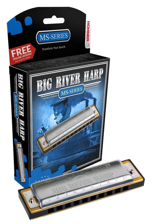 New Hohner Big River Diatonic Harmonica Key of C