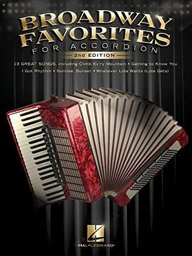 Broadway Favorites for Accordion 2nd Edition