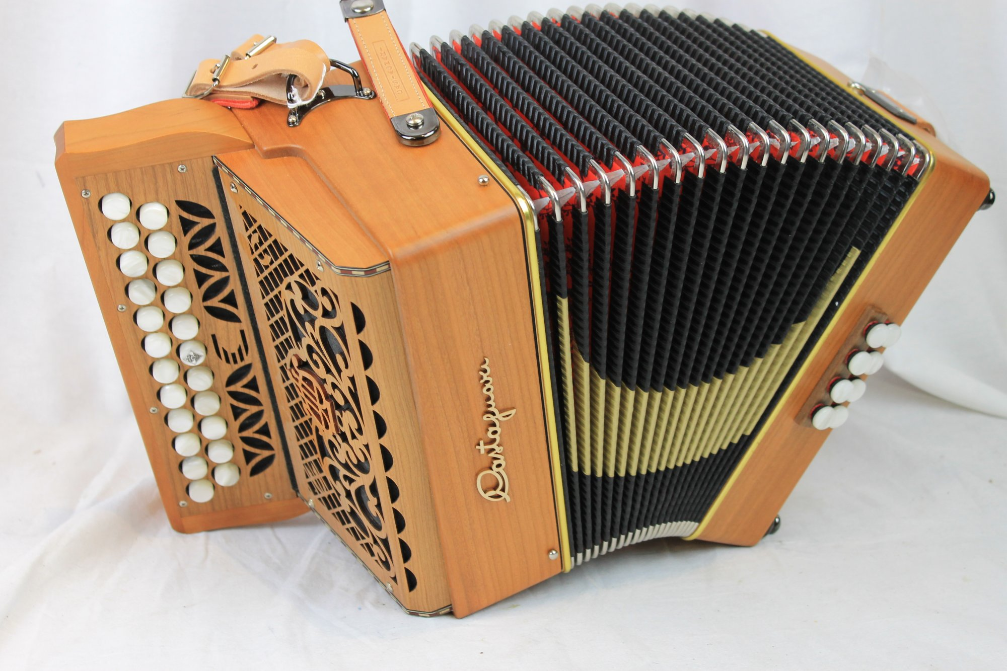 NEW Cherry Castagnari Dinn II Diatonic Button Accordion C#D MM 23 8