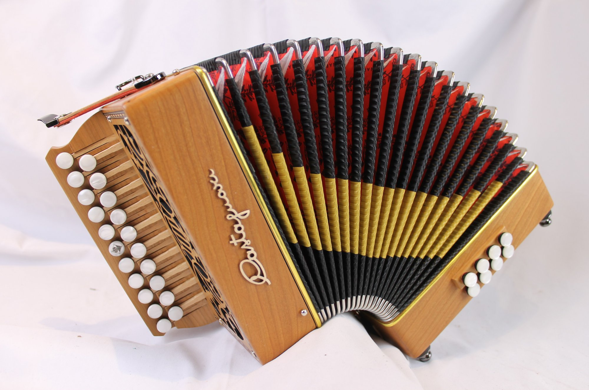 NEW Cherry Castagnari Lilly Diatonic Button Accordion BC M 21 8