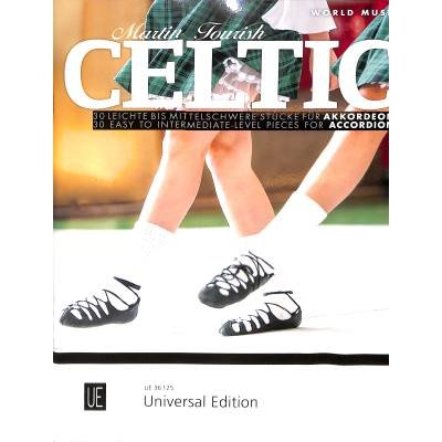 Celtic Accordion for standard bass accordion