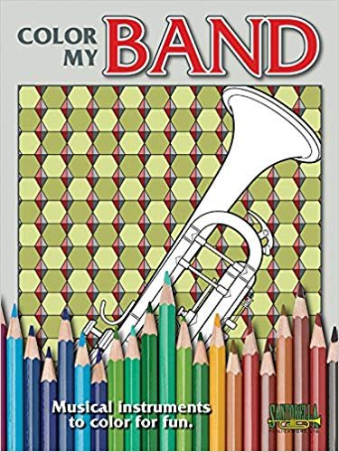 Color my Band: Middle School to Adult Coloring Book