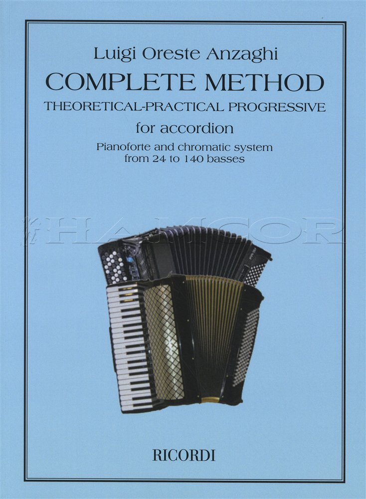 Luigi Anzaghi: Complete Method For Accordion