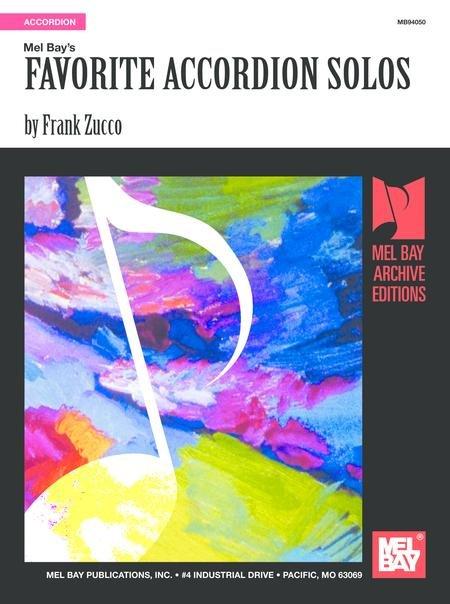 Mel Bay's Favorite Accordion Solos by Frank Zucco