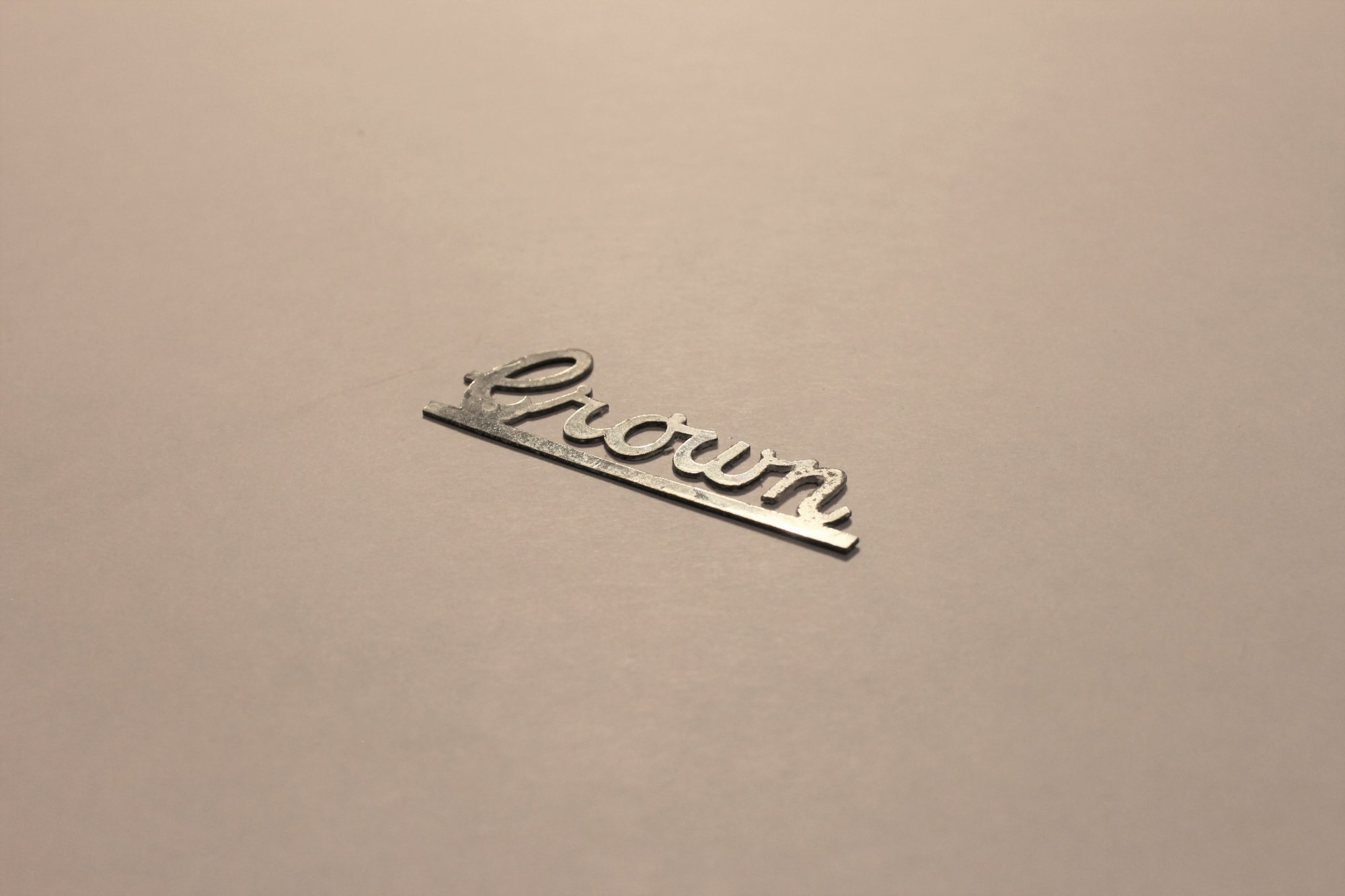 Accordion Part - Crown Horizontal Emblem Logo