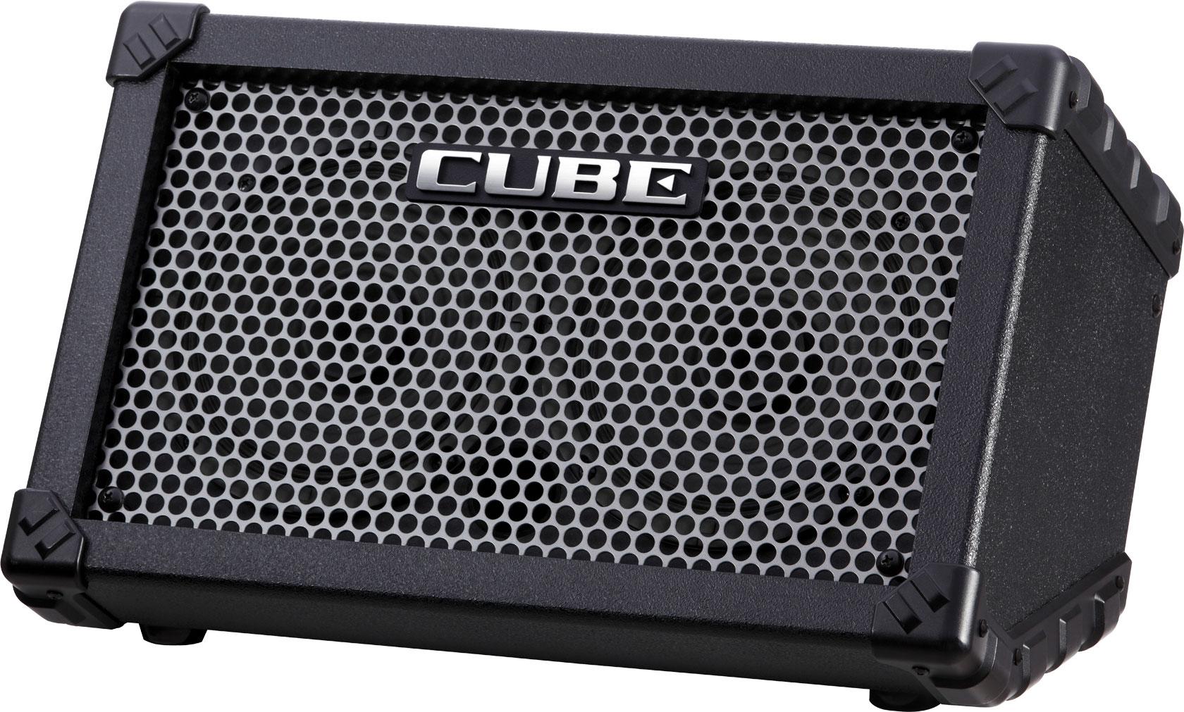 NEW Black Roland Cube Street Portable Amplifier
