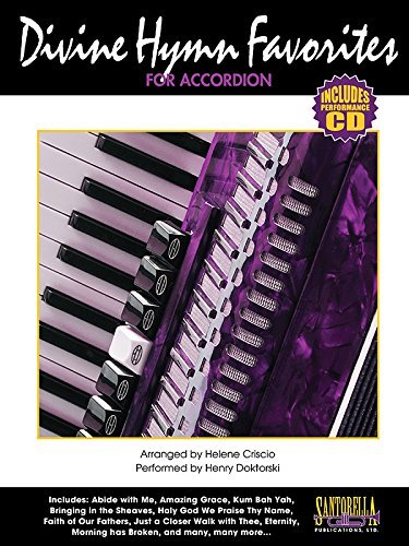 Divine Hymn Favorites for Accordion with Performance CD by Henry Doktorski