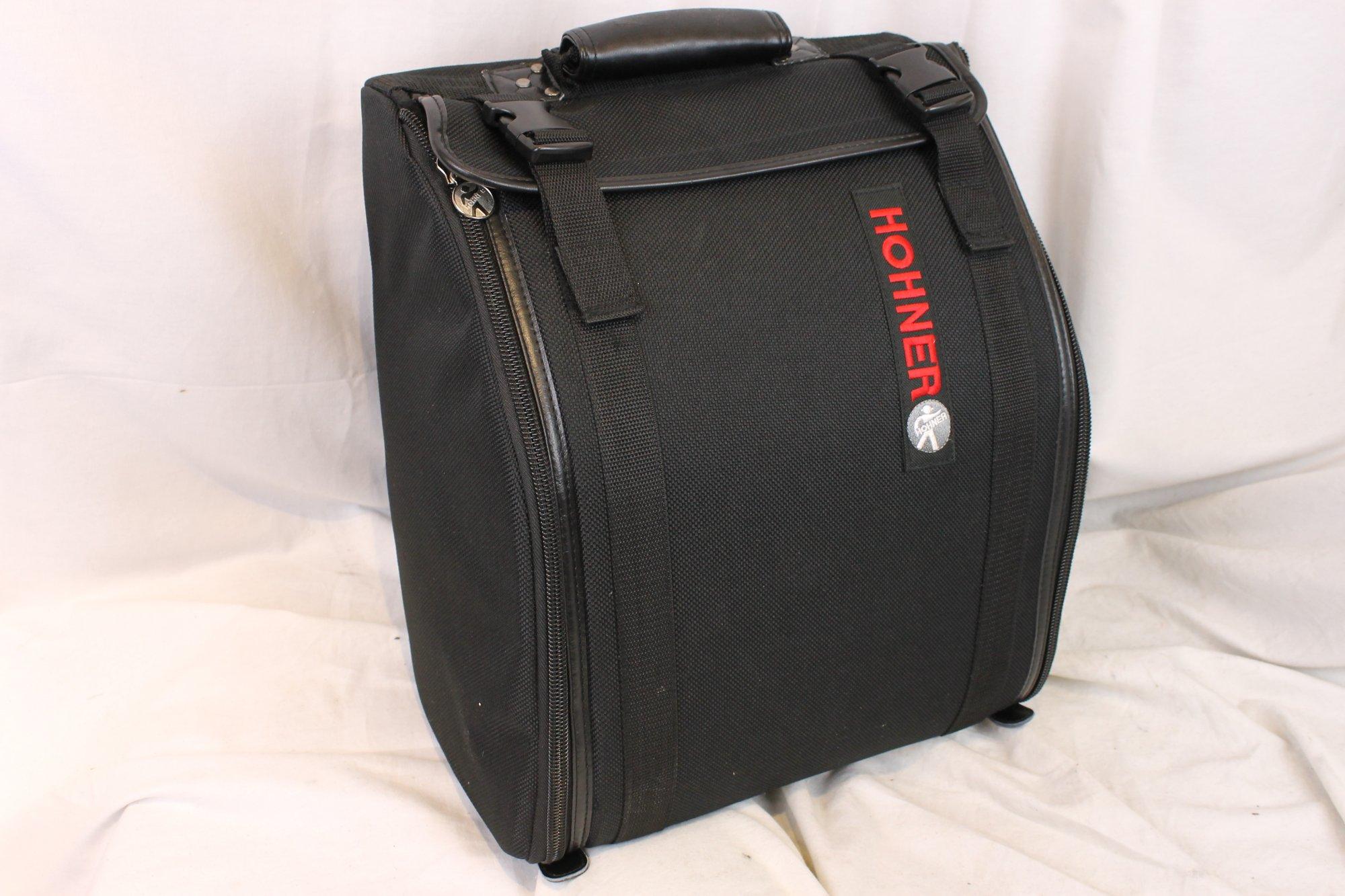 NEW Black Hohner Gig Bag for Accordion 13 x 8 x 16 fits Hohner Corona Extreme